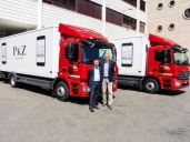 Zwei neue Mercedes-Benz Atego 1223 L 4x2 für die Walter Rhyner AG