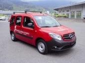 """Hotel """"Wysses Rössli"""" in Schwyz mit neuem Citan von Mercedes-Benz"""