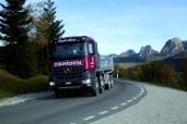Zbinden Transporte AG mit dem Arocs in den Berner Voralpen