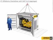 Ideal für den Einsatz auf hoher See – Mobile Offshore Generator Sets von Zeppelin Power Systems