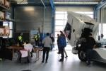 Präsentation Elektro Trucks bei Volvo Trucks in Dällikon