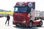 Mercedes-Benz Lucky-Trucker Fitness-Day-Aktion mit Abfahrts-Weltmeister Patrick Küng