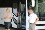 Präs. neuer Volvo Doppelstöcker-Bus