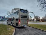 Pressebilder neuer Volvo-Bus Doppelstöcker